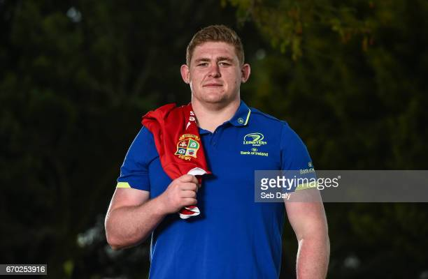 Dublin Ireland 19 April 2017 Tadhg Furlong of Leinster who was today named in the 2017 British Irish Lions squad that will tour New Zealand this...