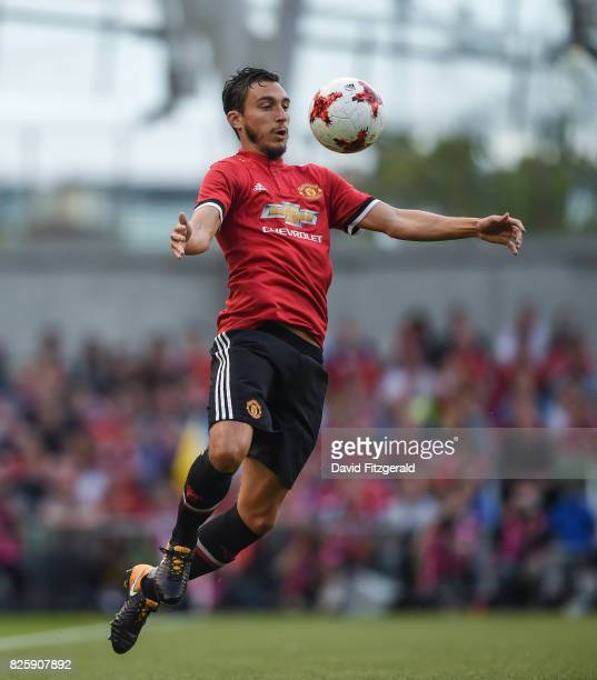 Dublin Ireland 2 August 2017 Matteo Darmian of Manchester United during the International Champions Cup match between Manchester United and Sampdoria...