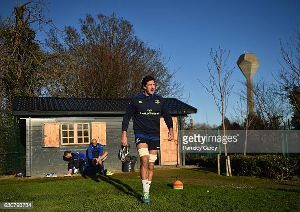 Dublin Ireland 2 January 2017 Mike McCarthy of Leinster ahead of squad training at UCD in Dublin