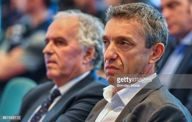 Dublin Ireland 2 October 2017 EPCR Director General Vincent Gaillard in attendance at the European Rugby Champions Cup and Challenge Cup 2017/18...