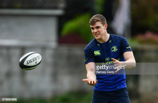 Dublin Ireland 20 November 2017 Garry Ringrose during Leinster rugby squad training at Leinster Rugby Headquarters in Dublin