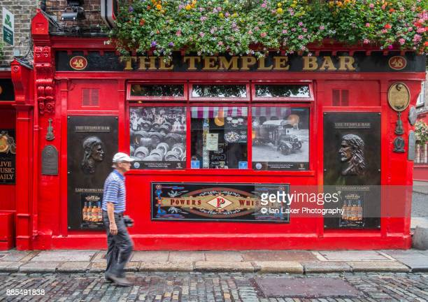 Dublin, Ireland. 21 August 2017. View of the Temple Bar Pub in the Temple Bar area of Dublin, Southern Ireland.