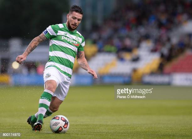 Dublin Ireland 23 June 2017 Brandon Miele of Shamrock Rovers during the SSE Airtricity League Premier Division match between Shamrock Rovers and...