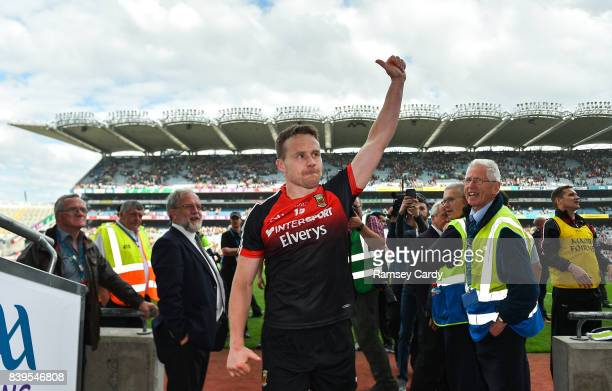 Dublin Ireland 26 August 2017 Mayo's Andy Moran following their victory in the GAA Football AllIreland Senior Championship SemiFinal Replay match...