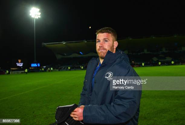 Dublin Ireland 29 September 2017 Sean O'Brien of Leinster following the Guinness PRO14 Round 5 match between Leinster and Edinburgh at the RDS Arena...