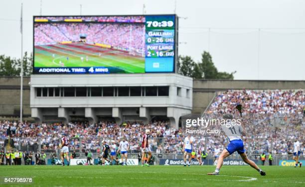 Dublin Ireland 3 September 2017 Pauric Mahony of Waterford during the GAA Hurling AllIreland Senior Championship Final match between Galway and...