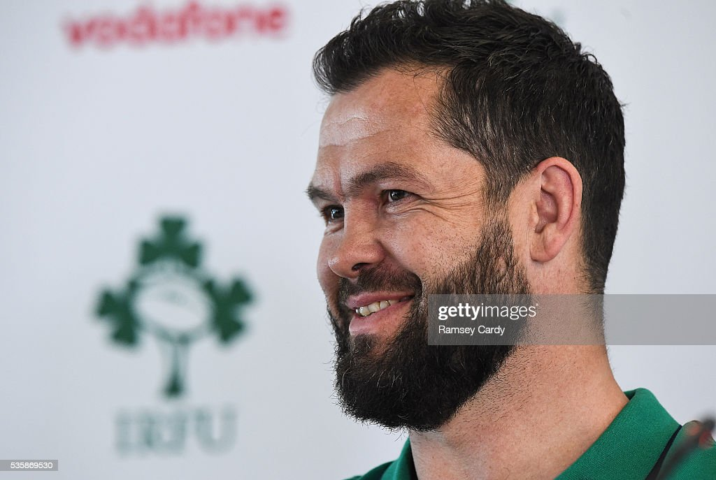 Dublin , Ireland - 30 May 2016; Ireland defence coach Andy Farrell during a press conference in the Aviva Stadium, Lansdowne Road, Dubln.