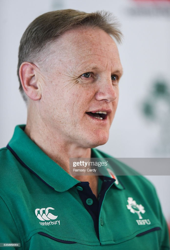 Dublin , Ireland - 30 May 2016; Ireland head coach Joe Schmidt during a press conference in the Aviva Stadium, Lansdowne Road, Dubln.