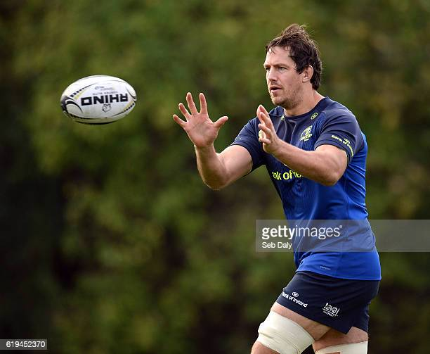 Dublin Ireland 31 October 2016 Mike McCarthy of Leinster during squad training at UCD in Belfield Dublin