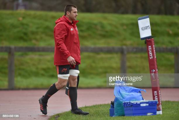 Dublin Ireland 4 December 2017 CJ Stander arrives for Munster Rugby squad training at the University of Limerick in Limerick