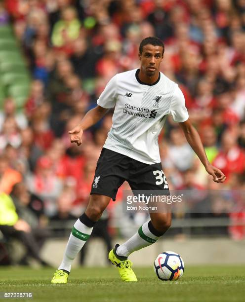 Dublin Ireland 5 August 2017 Joel Matip of Liverpool during the International Club soccer match between Liverpool and Athletic Bilbao at the Aviva...