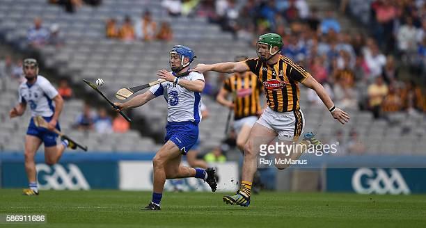 Dublin Ireland 7 August 2016 Colin Dunford of Waterford in action against Paul Murphy of Kilkenny during the GAA Hurling AllIreland Senior...
