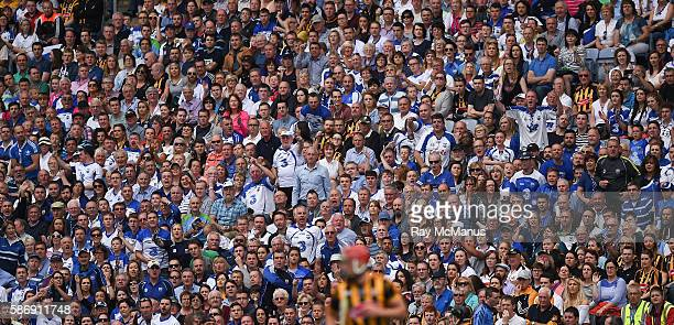 Dublin Ireland 7 August 2016 Spectators from both sides amongst the 34432 attendance watch the game from the Hogan Stand during the GAA Hurling...