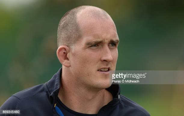 Dublin Ireland 9 October 2017 Leinster's Devin Toner arrives for squad training at Thornfields in UCD Belfield Dublin