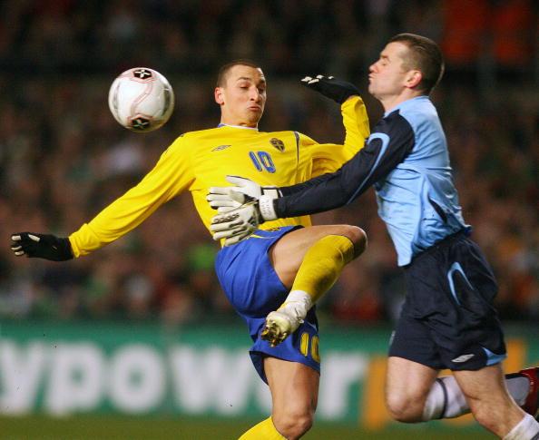 Goalkeeper for Republic of Ireland Shay : News Photo