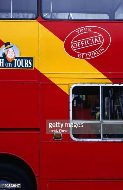 Dublin tour bus.