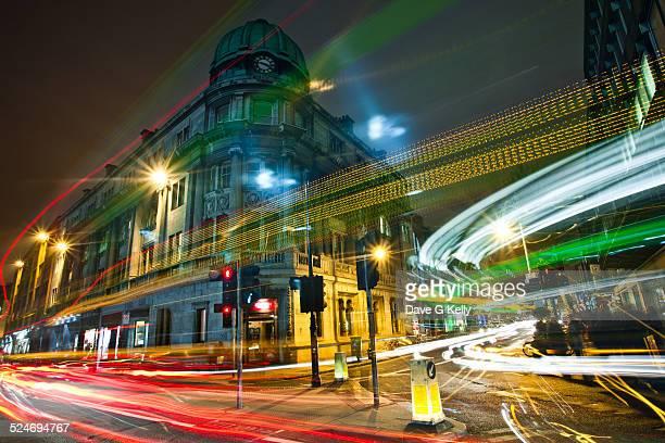 Dublin Traffic Light Trails