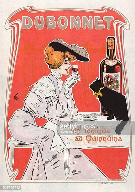 Vin Tonique au Quinquina Poster by Misti