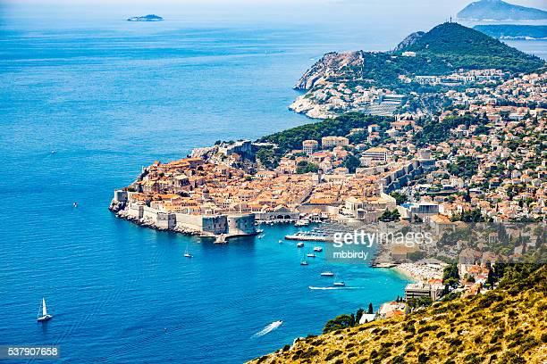 La ciudad antigua de Dubrovnik, Croacia