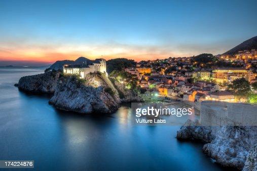 Dubrovnik Sunset, Croatia