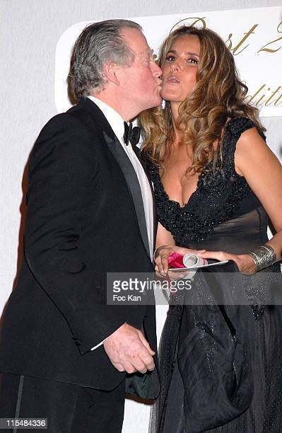 Duc D'Orleans and Tiziana Rocca during 2006 The Best Awards Ceremony 30th Edition at Royal Monceau Hotel in Paris France