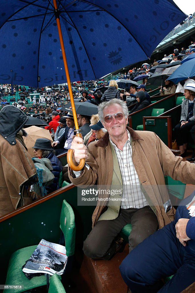 Duc Jacques d'Orleans attends Day Twelve of the 2016 French Tennis Open at Roland Garros on June 2, 2016 in Paris, France.