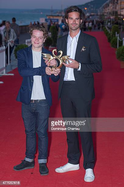 Duccio Chiarini awarded Special Jury Award and youg peopleAward during the closing ceremony of the 29th Cabourg Film Festival on June 13 2015 in...
