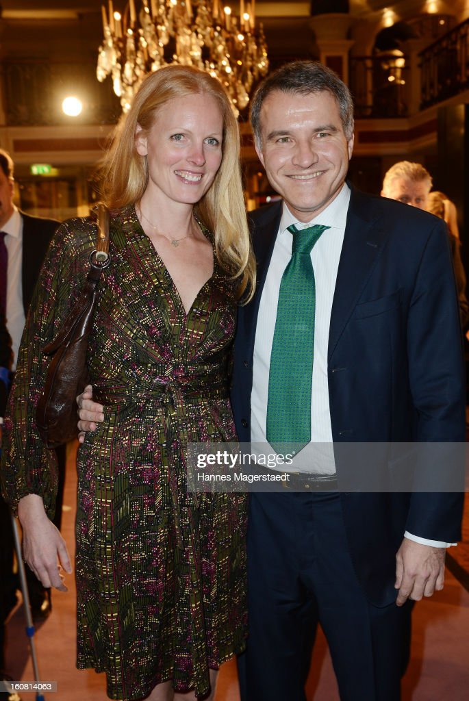 Duchess Elisabeth in Bayern and Daniel Terberger attend the Best Brands 2013 Gala at Bayerischer Hof on February 6, 2013 in Munich, Germany.
