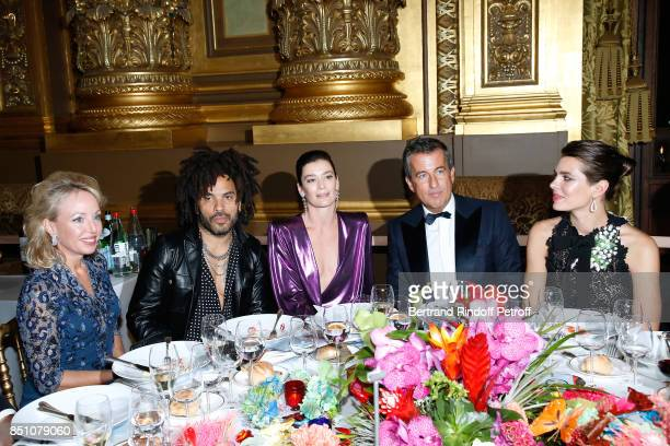 Duchess of Castro Camilla de Bourbon des DeuxSiciles Lenny Kravitz Paris National Opera dance director Aurelie Dupont CoPresident of the Opening Gala...