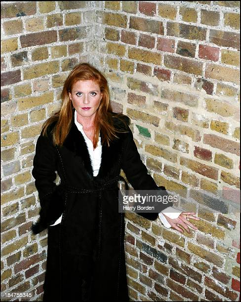 Duchess of York Sarah Ferguson is photographed for InStyle magazine on September 10 2001 in London England