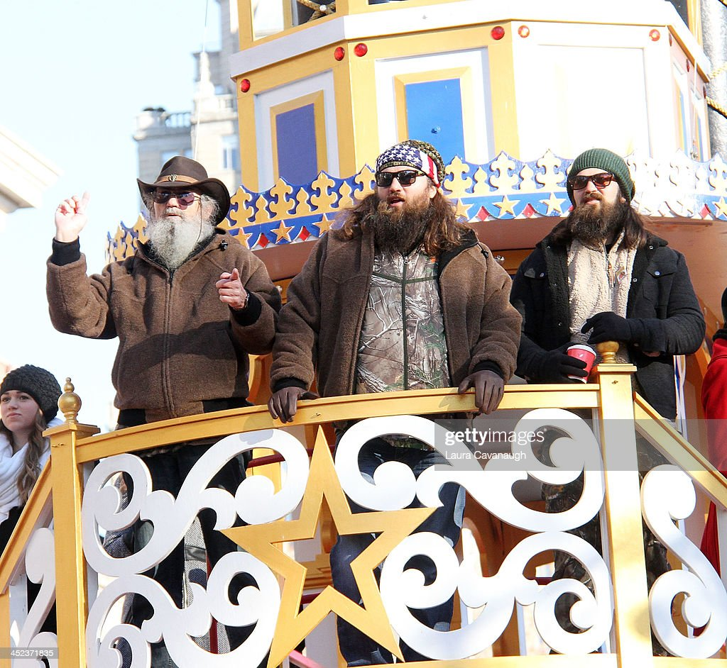 Duck Dynasty attends the 87th Annual Macy's Thanksgiving Day Parade on November 28, 2013 in New York City.