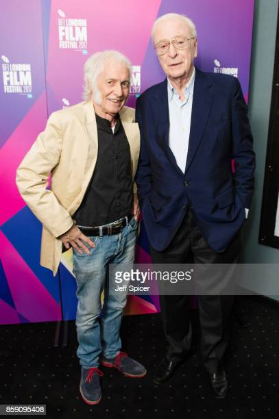 Dudley Edwards and Michael Caine attend a screening of 'My Generation' during the 61st BFI London Film Festival on October 8 2017 in London England