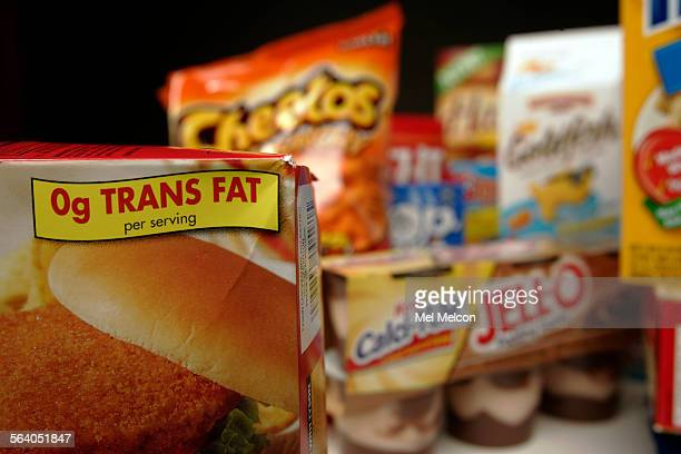 Due to new FDA rules food labels must now list trans fats as well as total fat and saturated fat The food industry is reformulating many of its...
