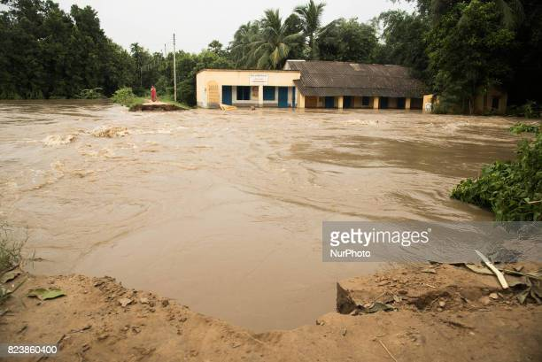 Due to the broken barrage of river Damodar flood water got entered into the village which devastated the entire communication system and...