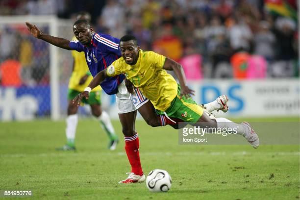 Duel Claude MAKELELE / Mohammed KADER TOURE France / Togo Coupe du Monde 2006
