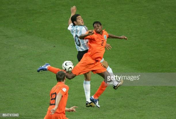 Duel Juan RIQUELME / Kew JALIENS Argentine / Pays Bas Coupe du Monde 2006