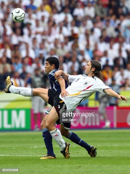 Duel Juan Roman RIQUELME / Torsten FRINGS Allemagne / Argentine 1/4 Finale Coupe du Monde 2006