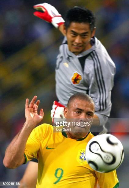 Duel KAWAGUCHI / RONALDO Bresil / Japon Coupe du Monde 2006