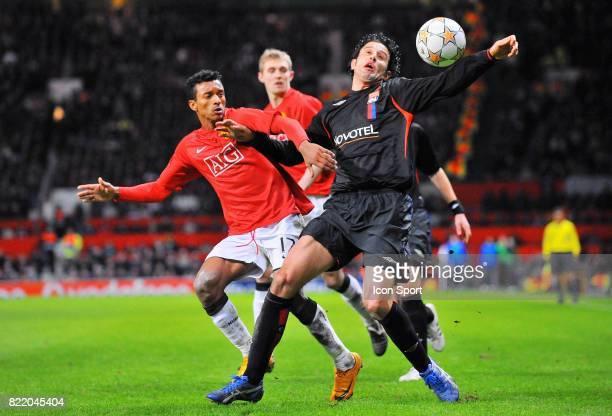 Duel NANI / Fabio GROSSO Manchester United / Lyon Champions League 2007/2008