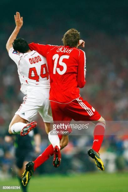 Duel ODDO / CROUCH Milan Ac / Liverpool Finale de Champions League Athenes