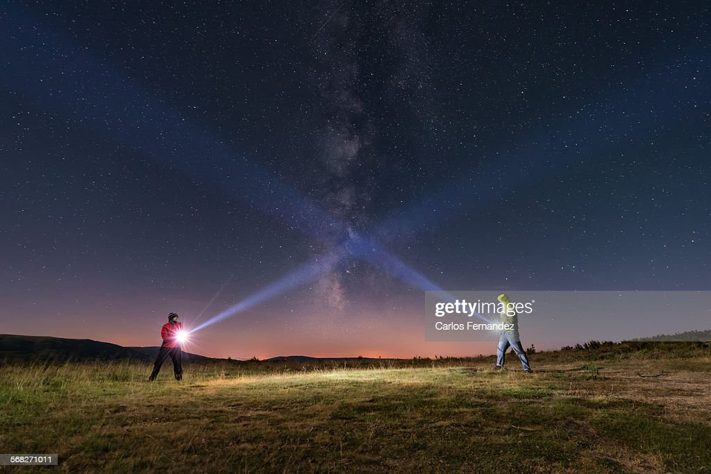Duel of light