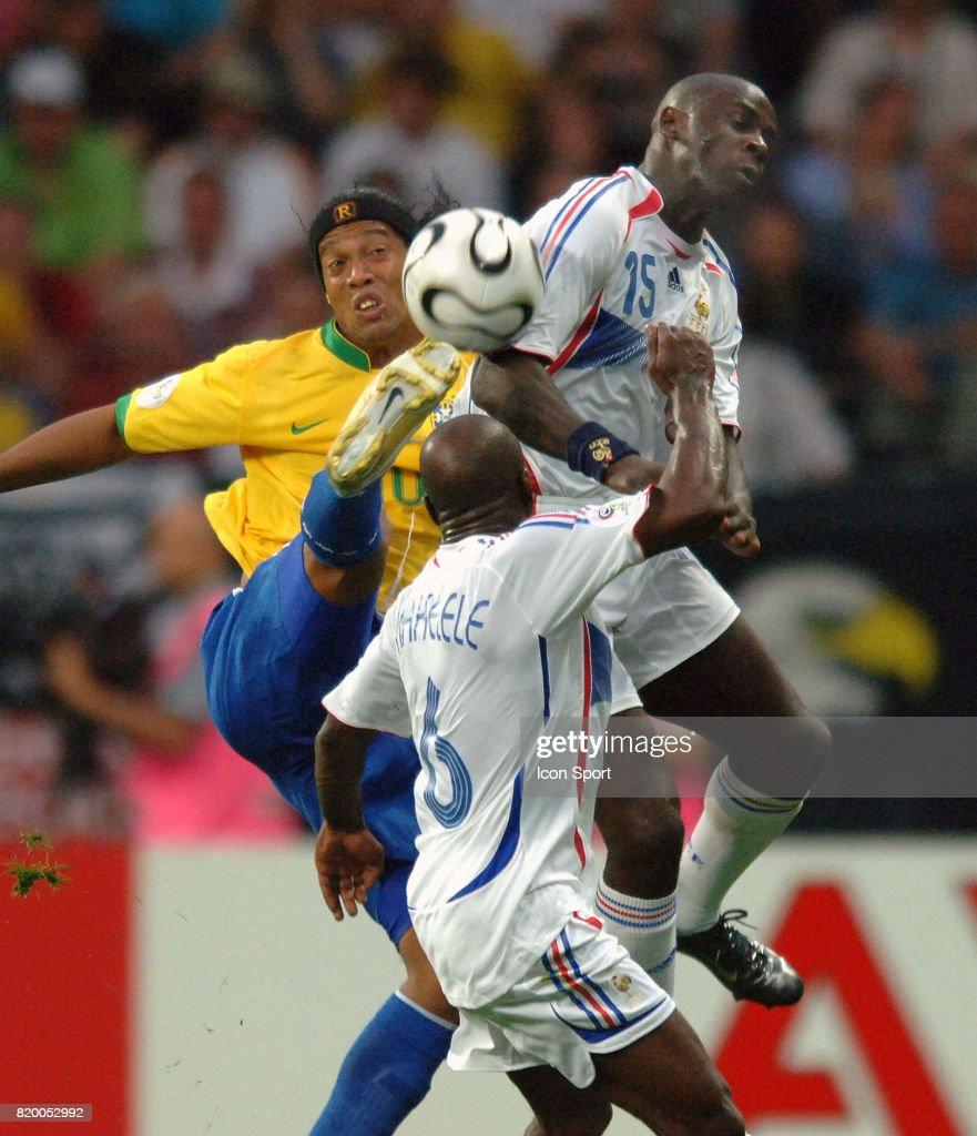 Duel Ronaldinho Lilian Thuram Makelele