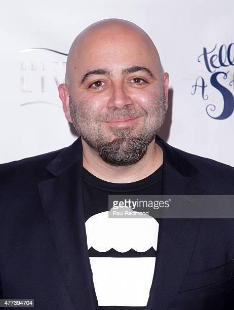Duff Goldman attends 826LA's 10th Birthday Celebration on June 16 2015 in Santa Monica California