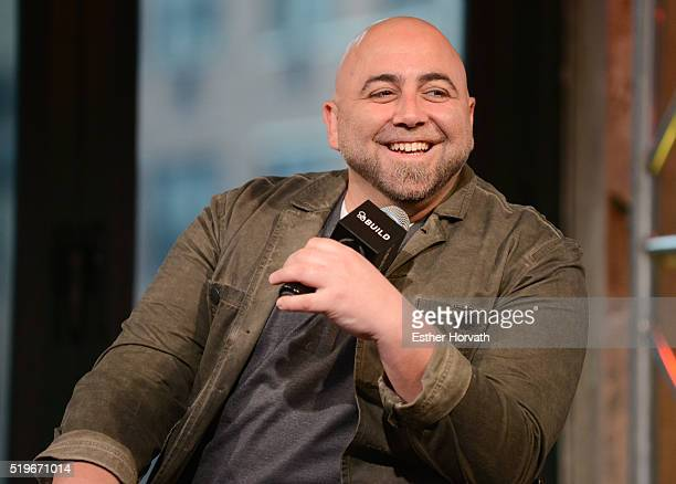Duff Goldman visits the AOL Build Speakers Seriesto discuss 'Cake Masters' at AOL Studios In New York on April 7 2016 in New York City