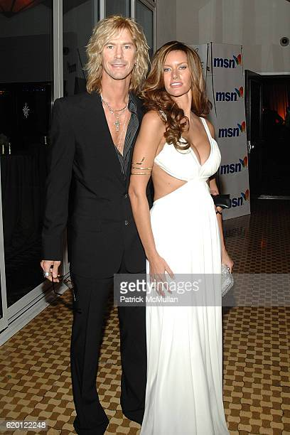 Duff McKagan and Susan McKagan attend The 2008 Clive Davis PreGrammy Party Inside at Beverly Hills on February 9 2008