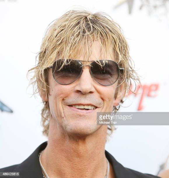 Duff McKagan arrives at the 6th Annual Revolver Golden Gods Award Show held at Club Nokia on April 23 2014 in Los Angeles California
