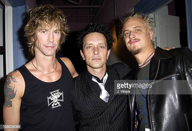 Duff McKagan Billy Morrison and Brett Scallions during Playstation 2 Presents The PS2 Tour Camp Freddy with Surprise Guests at Henry Fonda Theatre in...