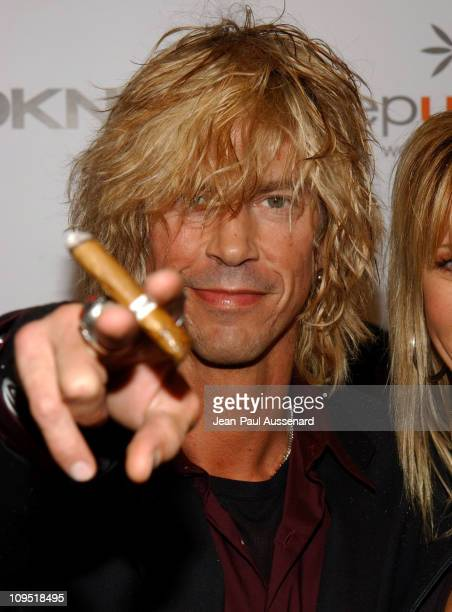 Duff McKagan during DKNY Presents Vanity Fair 'In Concert' Featuring Camp Freddy Arrivals at Avalon Hollywood in Hollywood California United States