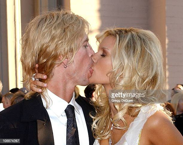 Duff McKagan of Velvet Revolver with wife Susan Holmes