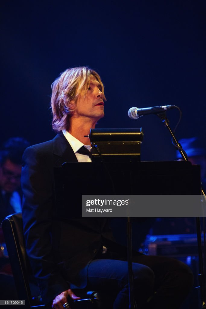 <a gi-track='captionPersonalityLinkClicked' href=/galleries/search?phrase=Duff+McKagan&family=editorial&specificpeople=209200 ng-click='$event.stopPropagation()'>Duff McKagan</a> performs 'It's So Easy And Other Lies, A Punks Revue' at The Moore Theater on March 26, 2013 in Seattle, Washington.